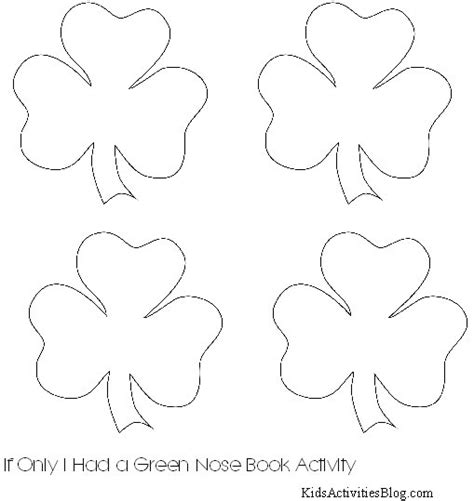 shamrock cut out template 5 best images of free printable shamrock cutouts