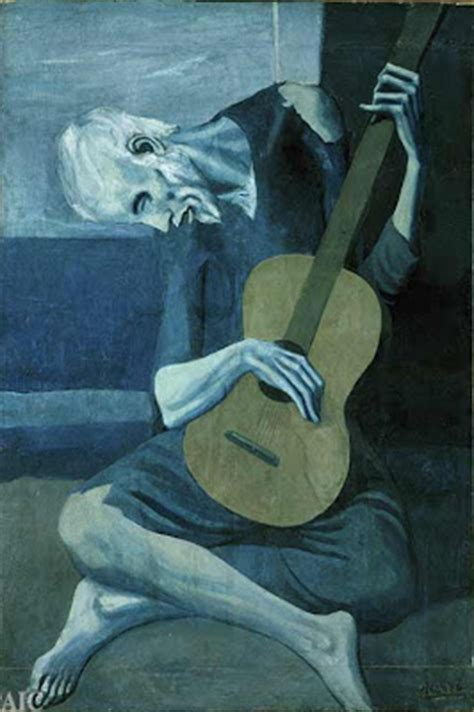 picasso paintings electrician electric mud pablo picasso blue guitar