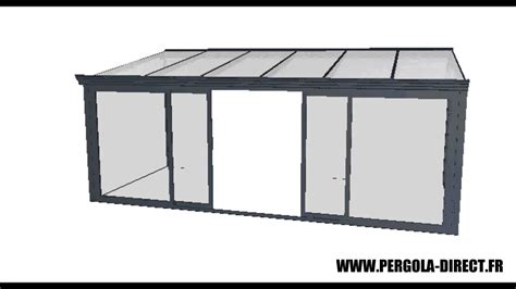 veranda kit veranda kit aluminium www pergola direct fr