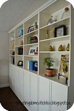 combinar besta y billy built ins book shelves and shelves on