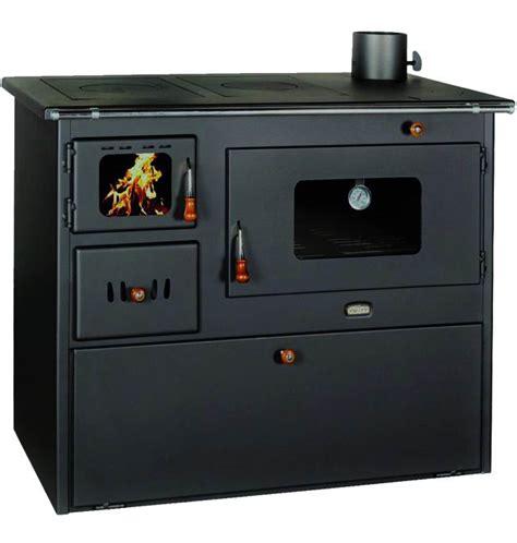 cucina forno a legna cucina a legna in acciaio quot 50 quot con forno a legna kw 16