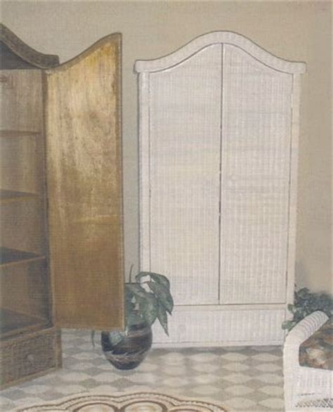 Wicker Wardrobe Closet by Wicker Armoire Door Wardrobe Wicker Wardrobe