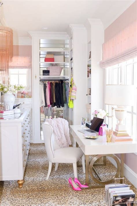 desk in walk in closet 10 ways to turn your closet into an office brit co