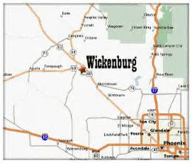 wickenburg arizona map wickenburg az town for folks farms and