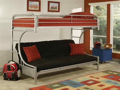 modern design of the convertible sofa bunk bed home