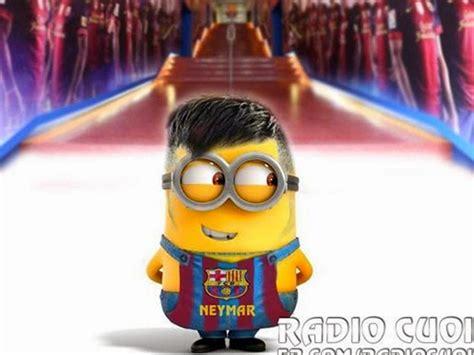 imagenes de minions real madrid im 225 genes minions del f 250 tbol club barcelona minionlander