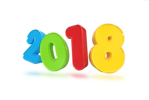 new year sign this year new year 2018 3d sign psdgraphics