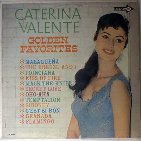 caterina valente albums caterina valente golden favorites records lps vinyl and