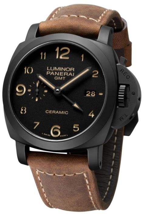 Jam Tangan Keren Pria Luminor Panerai Premium 4 ceramics ceramica and watches on