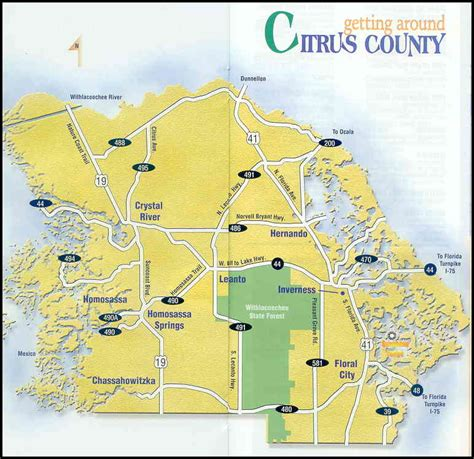 Citrus County Search Citrus County Map Images