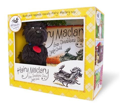 hairy maclary donaldsons dairy hairy maclary from donaldson s dairy book and plush boxed set lynley dodd book buy now