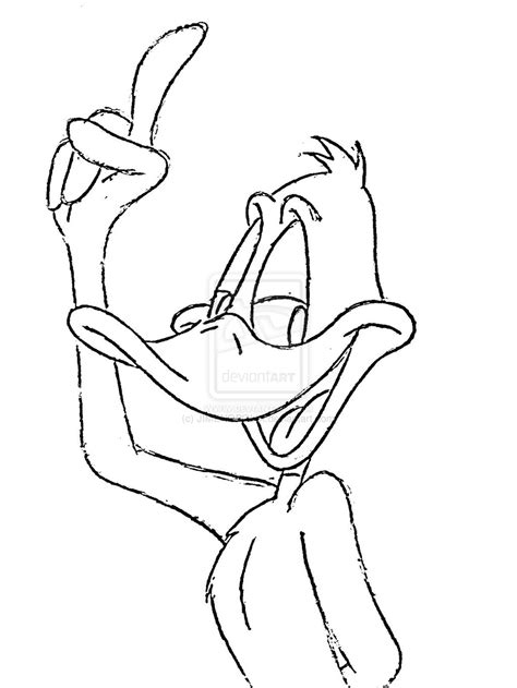 free coloring pages daffy duck daffy duck coloring pages bestofcoloring com