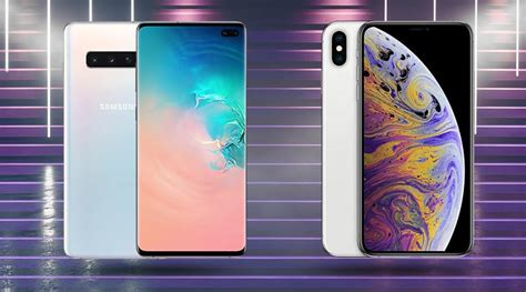 samsung galaxy   apple iphone xs max specifications