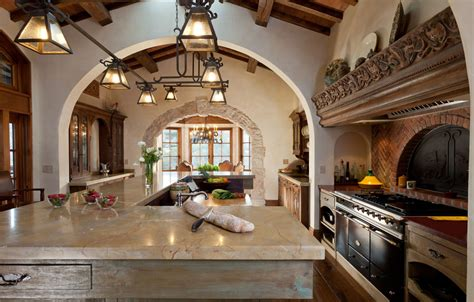 design spanish spanish colonial kitchens a little dark but love the light fixtures the counter and the