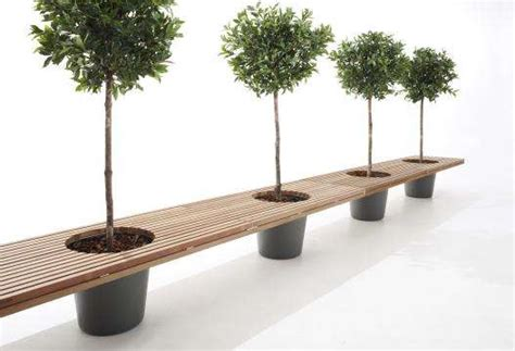 planter seat bench planter supported seating romeo juliet bench