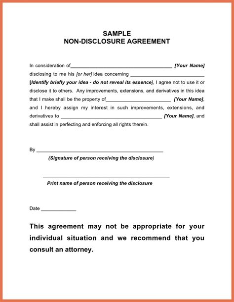 Simple Letter Of Agreement Sle disclosure letter template 28 images non disclosure