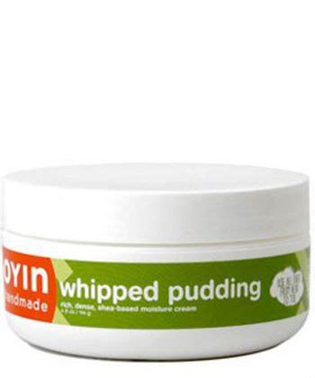 Oyin Handmade Pudding - 10 best moisturizers for hair