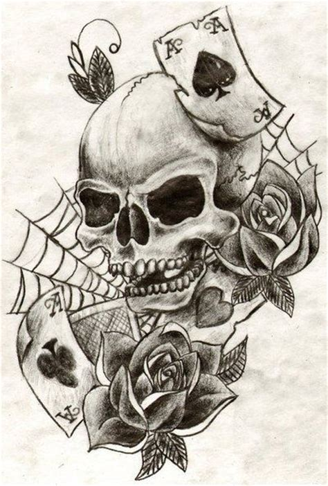 skull and rose tattoo for men skull minibellini dlx s http tattoosnet