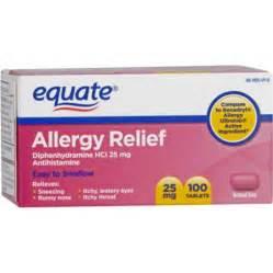 equate allergy tablets 100ct walmart com