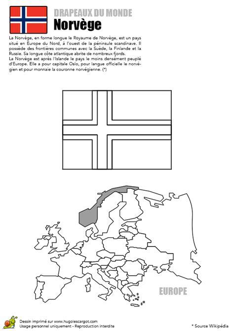 Coloriage D 233 Couverte Europe Drapeau La Norv 232 Ge Dessin De Foot A Colorier L