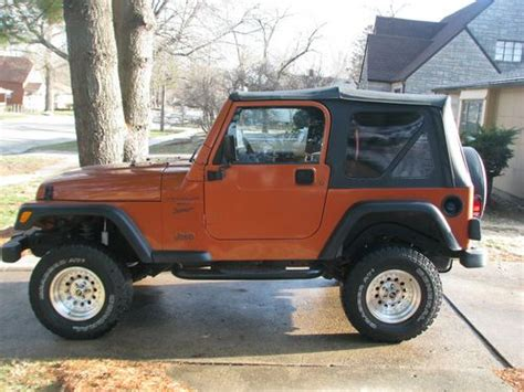 Used Jeeps For Sale In Iowa Purchase Used 2000 Jeep Wrangler Sport Sport Utility 2