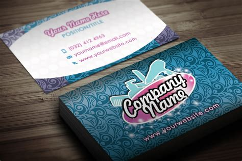 15 hair salon business card psds