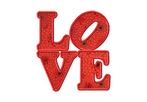 i love the applique free love machine embroidery includes both applique and