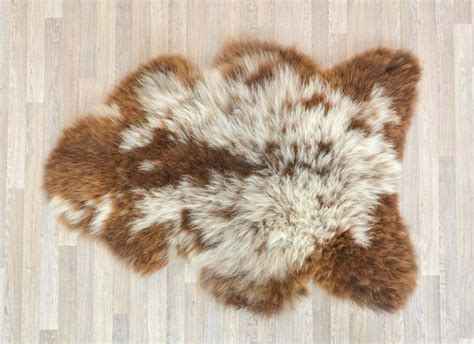 sheep skin rugs brown sheepskin rugs rugs ideas