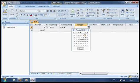 membuat laporan keuangan dengan acces buat tabel stok barang di access doovi
