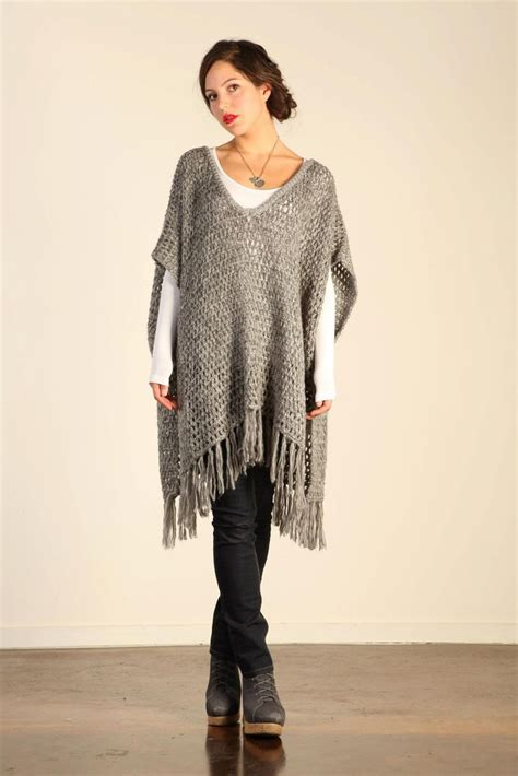 knit poncho 17 best images about ponchos on poncho