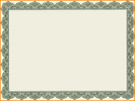 blank green card template 10 blank green border templates blank certificates
