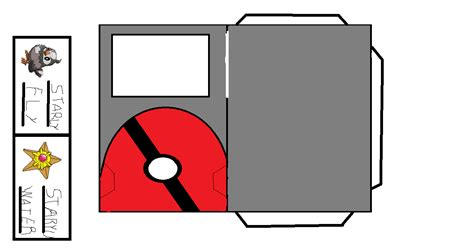 Pokedex Papercraft - pokedex papercraft template images images