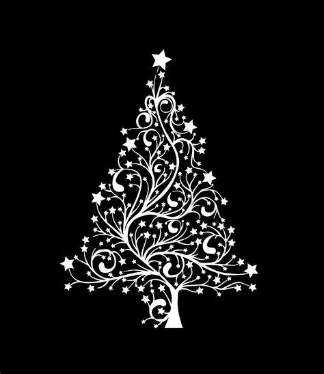 moderner weihnachtsbaum tree modern card free stock photo