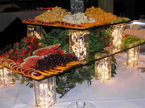 decor decorating christmas buffet table decorations ideas