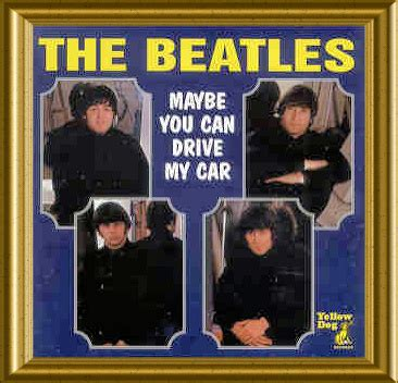 drive my car beatles cd maybe you can drive my car