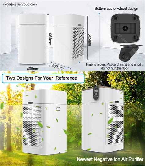 wifi app remote room anion air purifier manufacturer air purifier water purifier