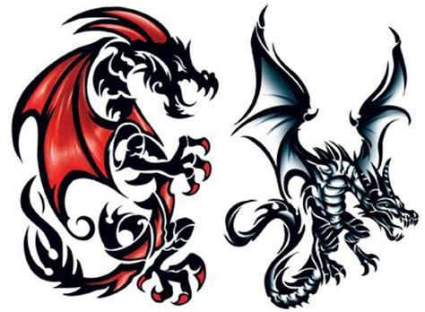 leviathan dragon tattoos tattooforaweek com temporary