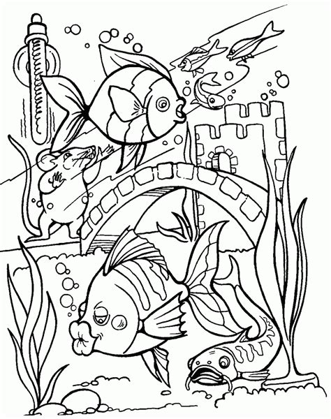 sunday school coloring pages fish marine fish coloring pages kleurplaat kleurplaat
