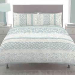 Bedroom Bedspreads Catherine Lansfield Orinoco Duck Egg Bedding Set Next