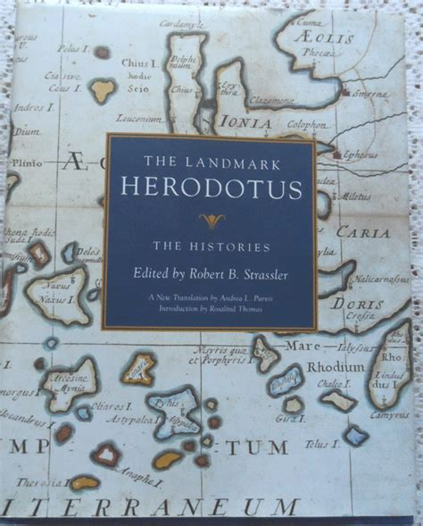 the history of herodotus bilingual edition and edition books the landmark herodotus the histories hardcover edition
