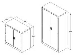 Standard Kitchen Cabinet Dimensions by Maxim Filing Systems Storage Cabinet