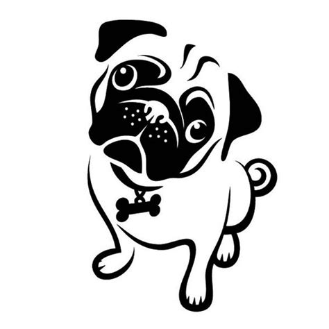 pug pumpkin stencil the world s catalog of ideas