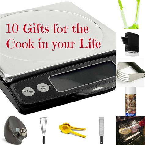 10 christmas gift ideas for a happy cook food done light