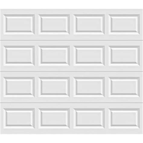 Home Depot Garage Door Panels by Clopay Value Plus Series 8 Ft X 7 Ft 6 3 R Value