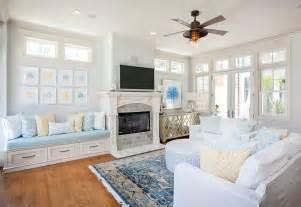 blue living room rugs cottage living room