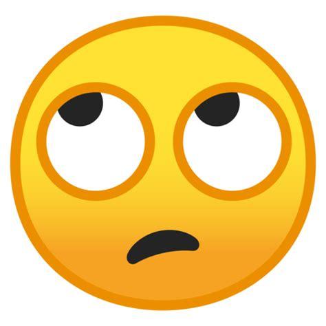 emoji rolling eyes face with rolling eyes emoji