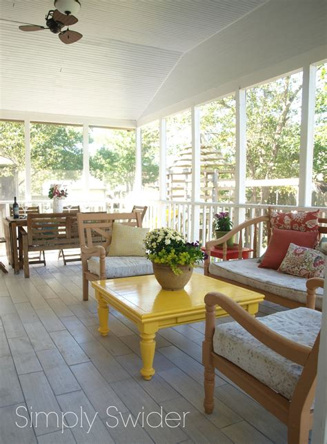 screened porch makeover 25 insanely inspiring outdoor rooms the happy housie