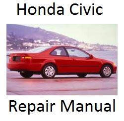 car owners manuals free downloads 1985 honda civic electronic throttle control service manual 1992 honda civic repair manual free downloads by tradebit com de es it 1992