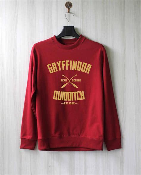 Tshirt C H E L S E A gryffindor quidditch harry potter shirt sweatshirt by