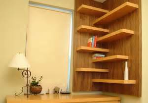 25 space saving modern interior design ideas corner shelves maximizing small spaces